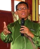 Pencermah jemputan Pegawai Kaunselor Pentadbir Pejabat Pelajaran Daerah (PPD) Johor Bahru Abdullah bin Yusof.