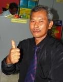 Ketua Jurulatih Bola Baling perempuan En Mashudi Mohd Said.