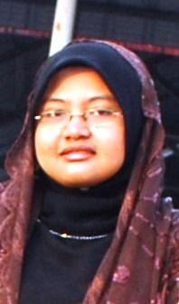 Ketua Kumpulan Nasyid SMKPS Fatin Nabila Mohd Mokhtar (Kelas 4 Amanah)