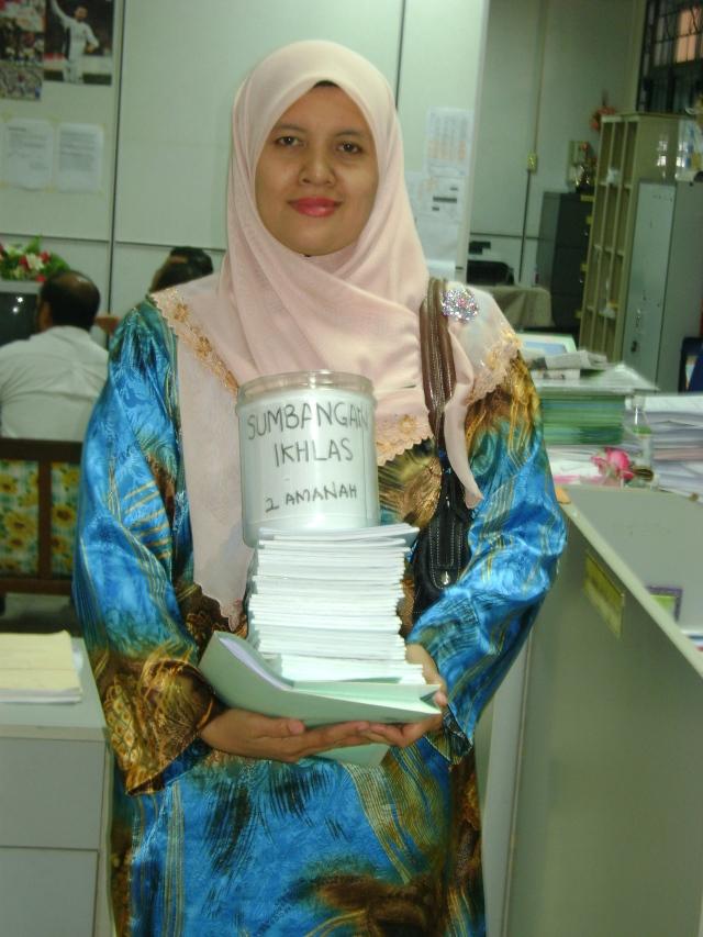 Puan Suziana Bt. Abdullah bersedia menjalankan tugas