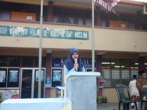 SAJAK UNTUK CIKGU NAJHAN... Dideklamasi oleh Siti Nabila Sakroni
