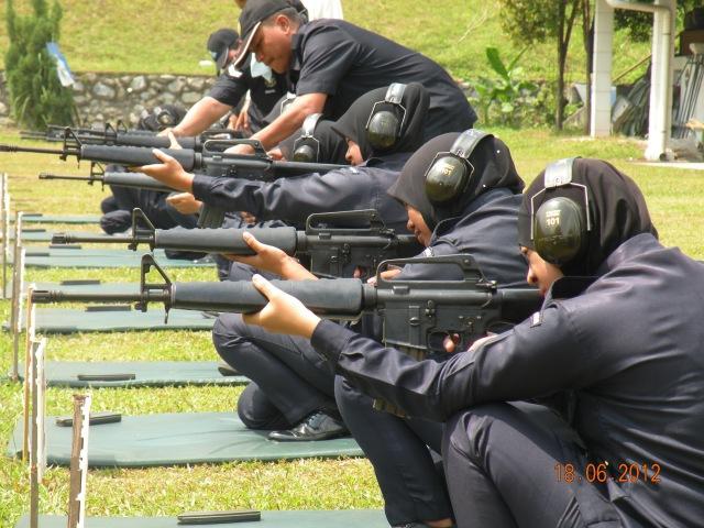 'Tepat ke sasaran' begitulah yang dilakukan oleh anggota Kadet Polis SMKPS