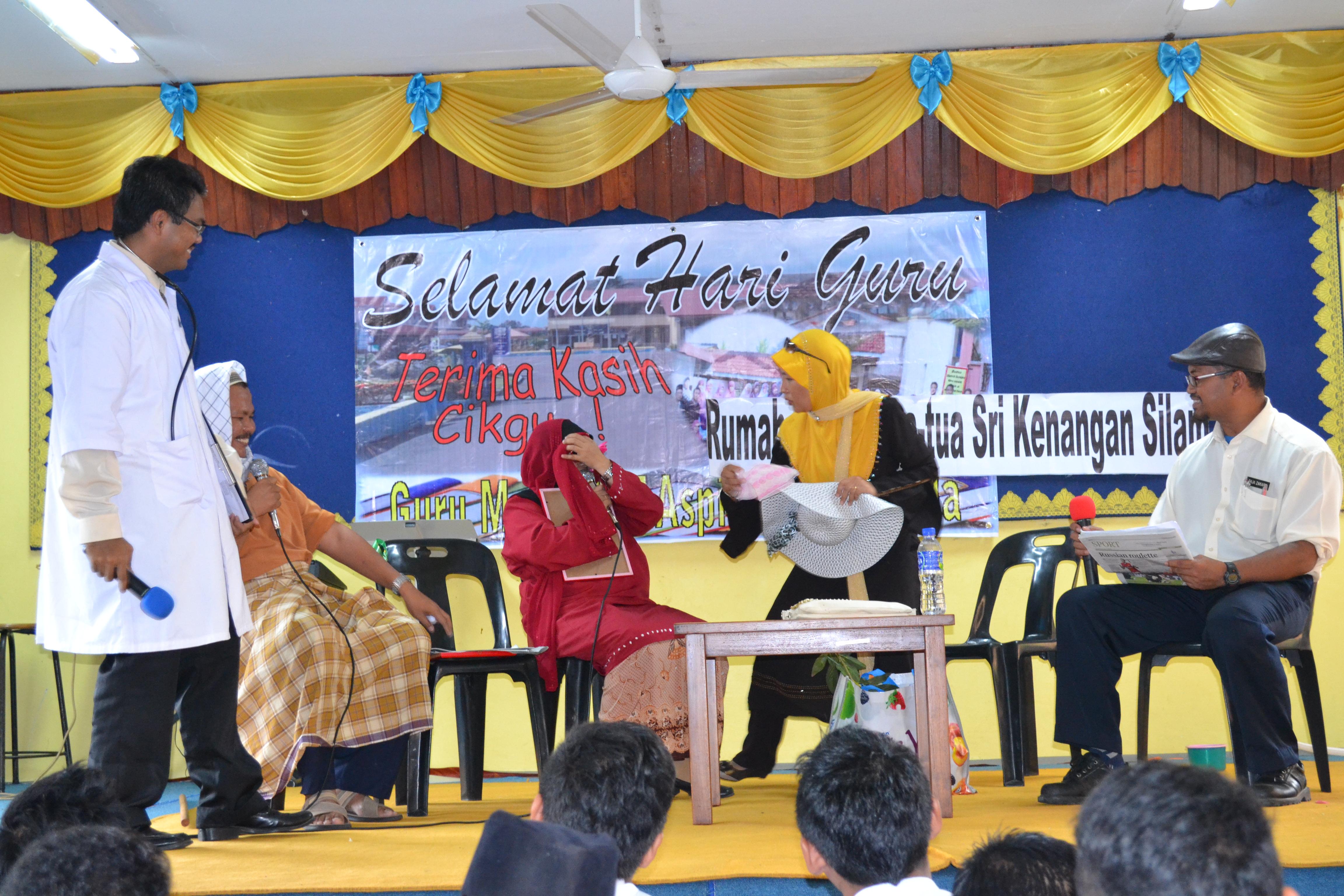 SAMBUTAN HARI GURU SMKPS 2013