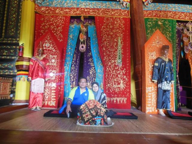Foto di dalam istana Pagar Ruyung