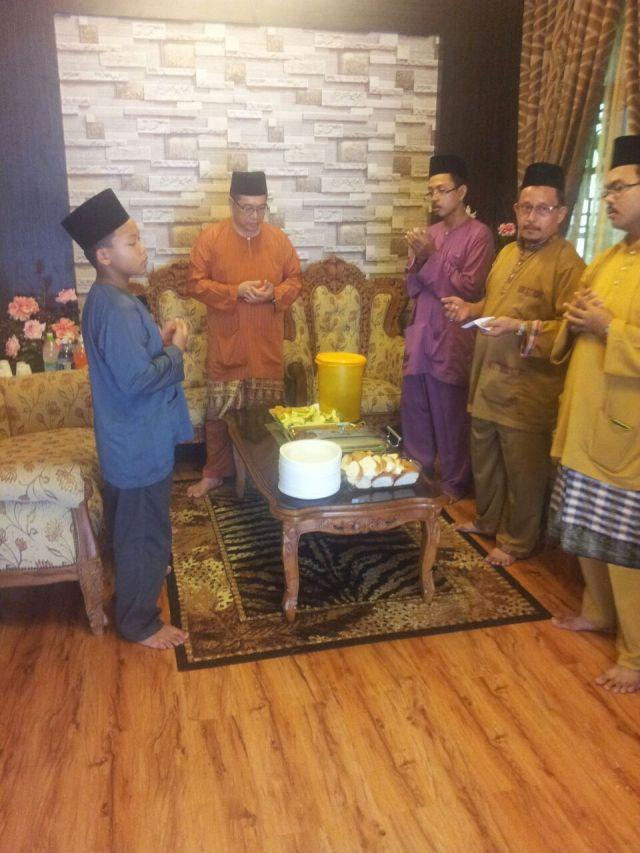 Mantan GPK Kokurikulum, Tn. Hj. Mustaffa bin Siraj turut hadir bersama memeriahkan suasana